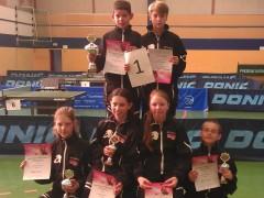 Sehr erfolgreiche B-SchülerInnen Rangliste der Region 6 in Bremen