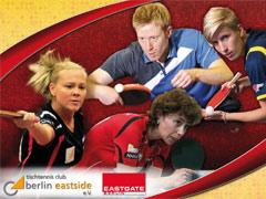 Christian Süß und der ttc berlin eastside präsentieren Tischtennis im EASTGATE Berlin