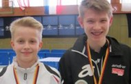 Marcus und Ben sind Deutsche Meister im Schüler – Doppel 2013