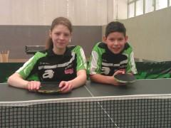 Arina und Fernando für den DTTB D/C-Minikader 2014 nominiert