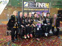 Herzlichen Glückwunsch: Der ttc berlin eastside ist Deutscher Pokalmeister 2015