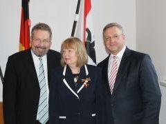 Bundesverdienstkreuz für Jutta Trapp