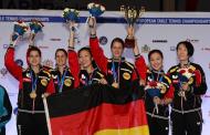 EM 2015: Shan Xiaona und Petrissa Solja sind zum dritten Mal Mannschafts-Europameister