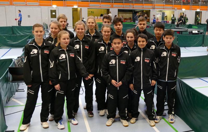 BTTV erfolgreich bei den Norddeutsche Meisterschaften der Jugend 2016