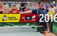 27. andro Kids Open vom 19.08. bis 21.08.2016 in Düsseldorf