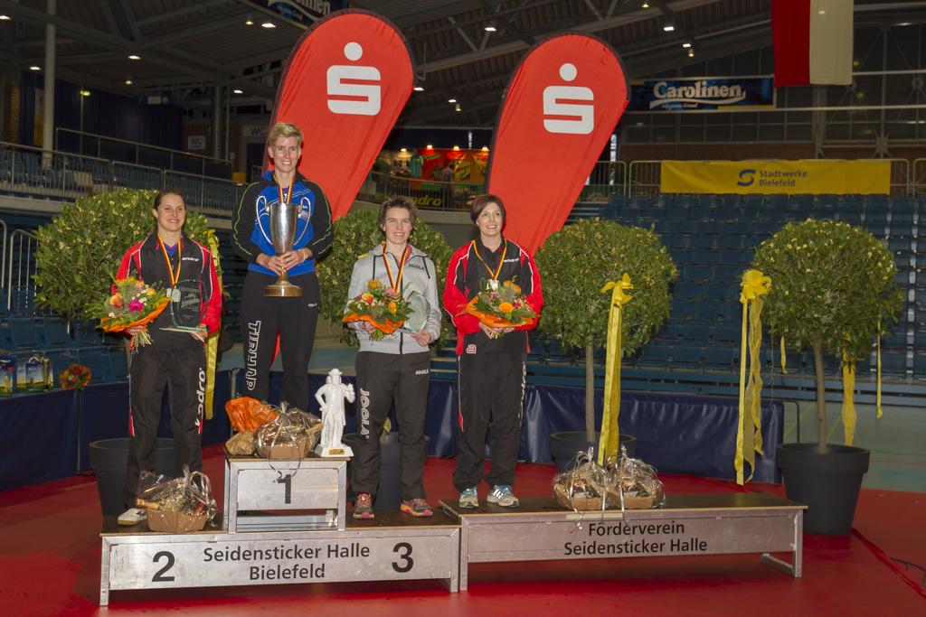 Sieger Damen Einzel