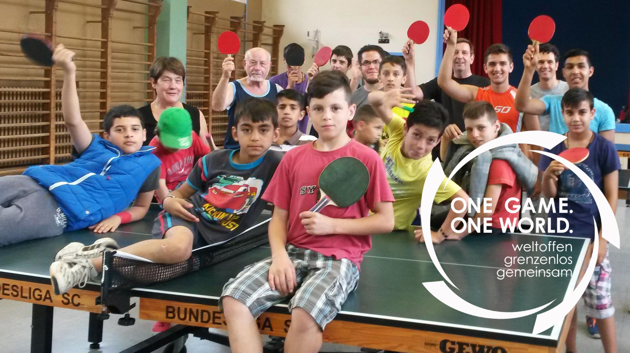 """One Game. One World. auf der DTTB-Webseite und Schwerpunkt in """"tischtennis"""""""