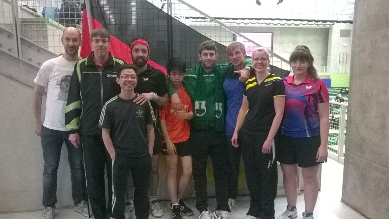 Berlin 2-facher Deutscher Doppel Meister der Leistungsklassen in der B-Klasse der Damen und Herren