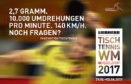 Ticketverkauf für WM 2017 gestartet