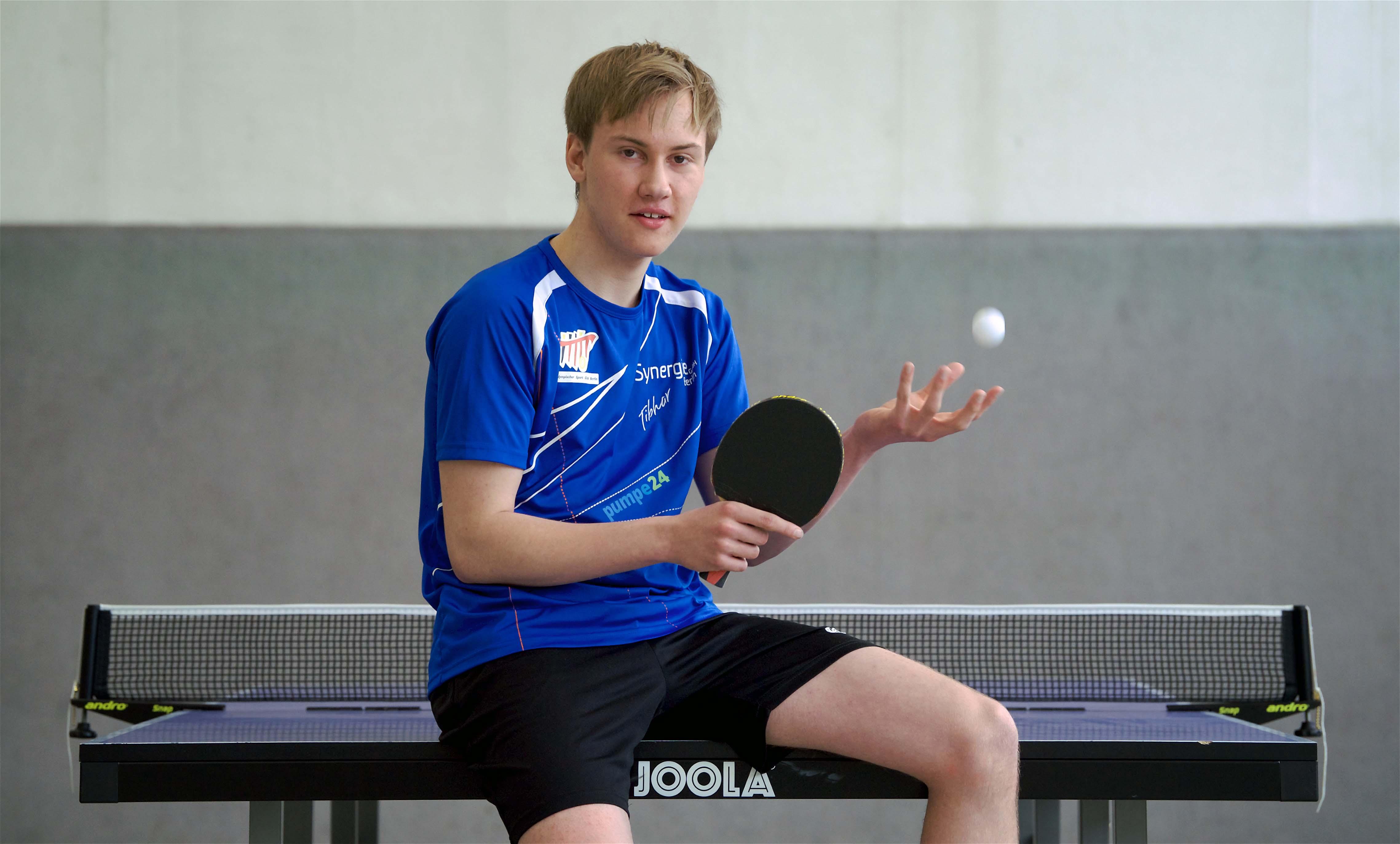 Maximilian Kröber - Nachwuchssportler Berlin des Monats Mai 2017
