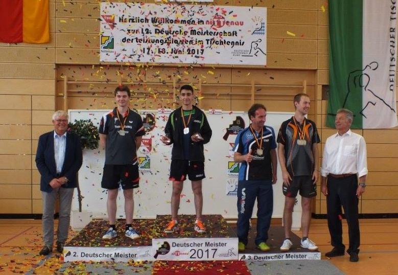 Tolle Platzierungen bei den Deutschen Meisterschaften der Leistungsklassen - Burak Üstüntas ist deutscher Meister