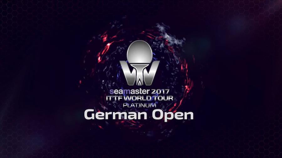 German Open vom 7. bis 12. November 2017 in Magdeburg