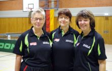 Deutschlandpokal Senioren/innen 60 in Mölln