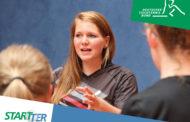 Letzte Chance: STARTTER und Kinder- und Jugendtrainer