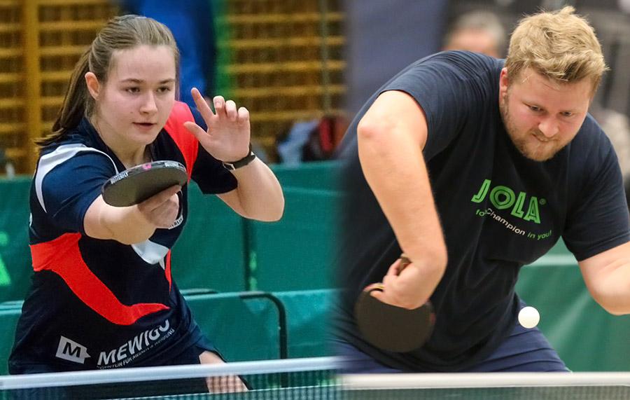 Sina Henning und Sebastian Stürzebecher gewinnen die Berliner Meisterschaften der Damen & Herren 2018 (BEM 2018)