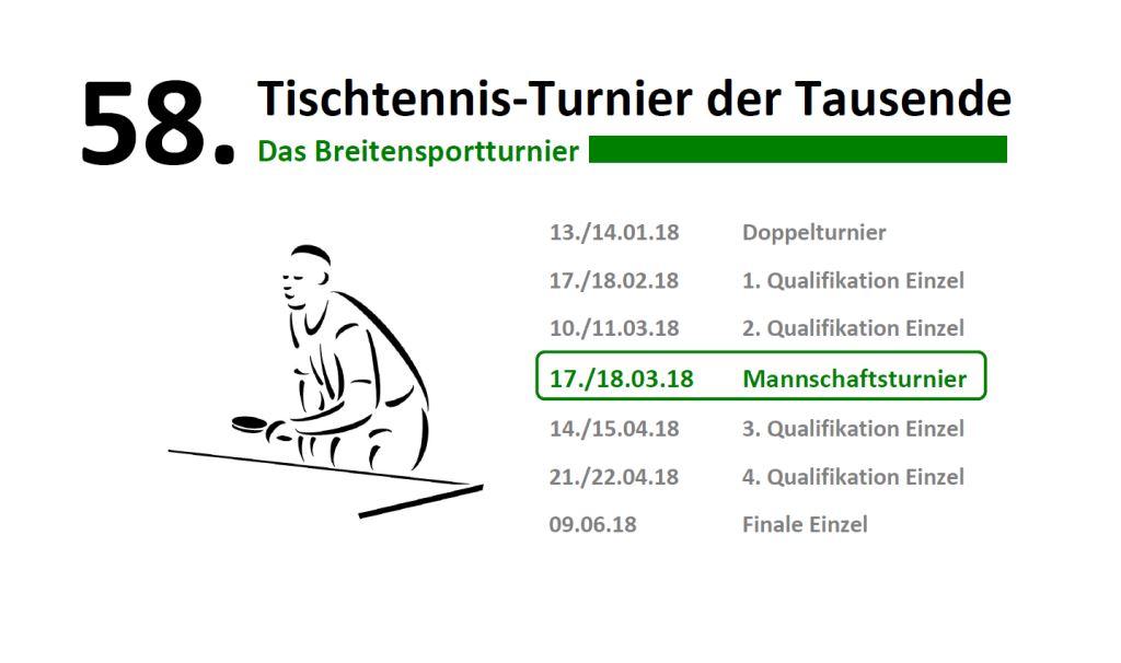 58. TTT - Mannschaftsturnier