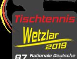 Hinweis: Nationale Deutsche Meisterschaften 2019