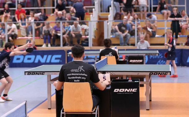 Finale der Minimeisterschaften in Berlin