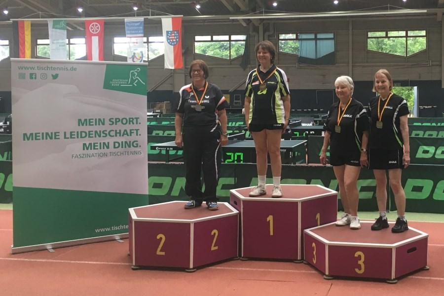 4 Titel und 15 Medaillen für den BTTV bei Deutscher Seniorenmeisterschaft in Erfurt