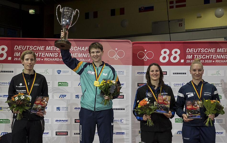 Deutsche Meisterschaften in Chemnitz - Nina verteidigt beide Titel!