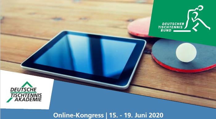 Ab 15. Juni - Kostenloser DTTB Online Kongress für deinen Verein