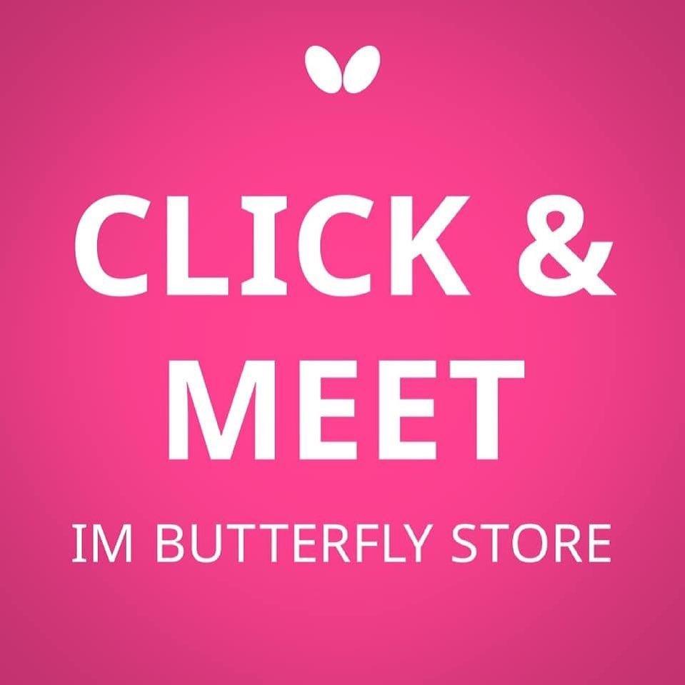 Click & Meet - Butterfly Store Berlin hat wieder offen