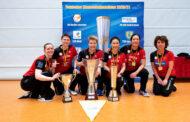 Gratulation zum Triple für die Damen vom ttc eastside berlin !