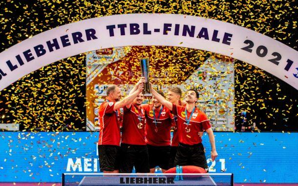 Borussia Düsseldorf gewinnt das Liebherr TTBL-Finale | Erstmals live auf den Kanälen von ARD und ZDF