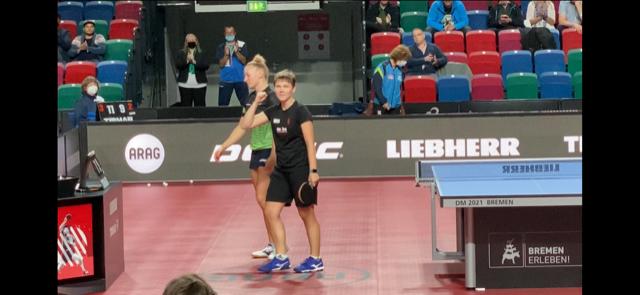 Nina Mittelham holt den dritten Einzeltitel in Folge bei 89. NDM in Bremen